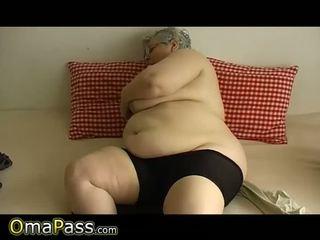 w wieku, babunia, tłuszcz