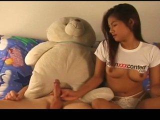 Thaimaalainen nymph has perseestä virta