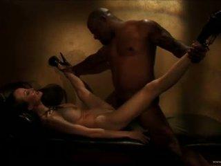 Ange venus liefde making uit met geil zwart guy