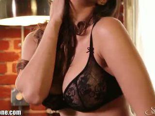 Sunny leone's 黑色 女用贴身内衣裤