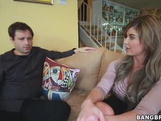 Chloe chaos marido watches como ella gets follada