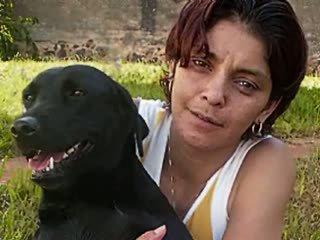 brazilian, ansikts, anal