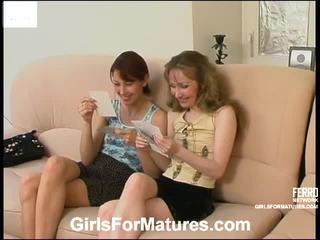 Leila y jennifer caliente lesbianas