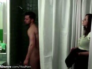 baci, femminile amichevole, doccia