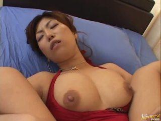 Groß boobed asiatisch naho hazuki gets sie fotze licking