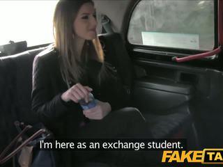 Faketaxi belas morena marcas taxi sextape