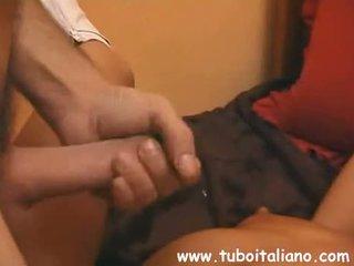 Italiensk kone og henne ny boyfriend
