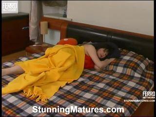 Christina, adam, jerry starring trong nóng pha mov của tuyệt đẹp matures