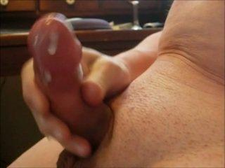 sacudindo, ejaculação, masturbação
