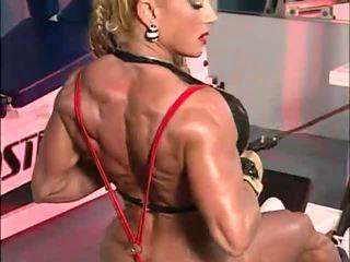 fetish, muscle women