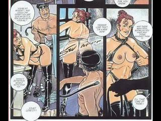 속박, 지배, 사디즘, 마조히즘 섹스 성인 성욕을 자극하는 comics