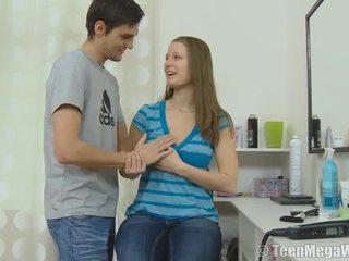 blowjob, lielas krūtis, amazing teen krūzes