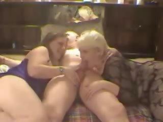 Amateur Threesome: Free MILF Porn Video 67