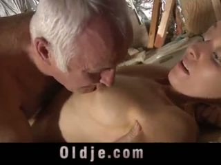 blowjob, šķebinošs, grandpa