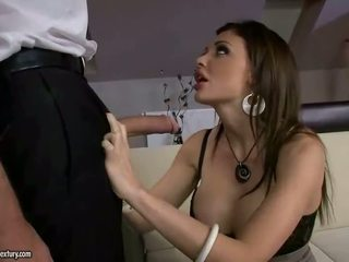 briunetė, hardcore sex