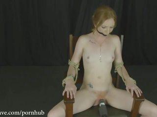 vibrator, orgasme, kneblet