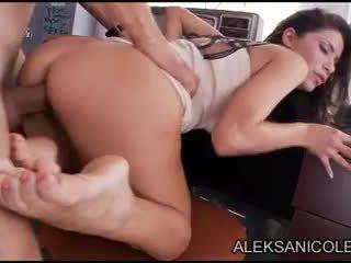 Aleksa Nicole in closet