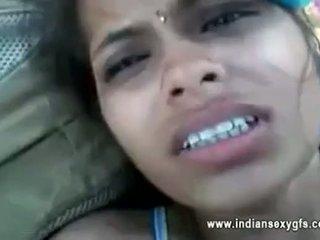 Orissa индийски приятелка прецака от boyfriend в гора с audio