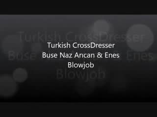 Turque buse naz arican & gokhan - suçage et baise