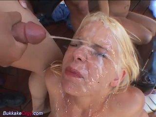 éjaculations, sexe de groupe, orgie