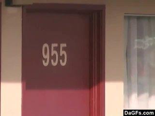 I martuar grua fucked në vegas motel