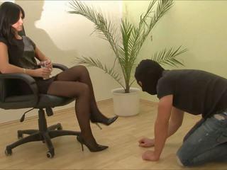 high heels, foot fetish, femdom