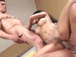 brunette, sexe hardcore, fellation