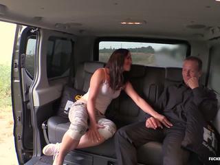 Fuckedintraffic - Brunette Czech gets Fucked in Hot Car