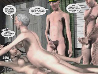 karikatūros, 3d cartoon sex movies, 3d porn animation