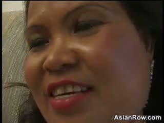 Thick und reif asiatisch wants ein schwarz schwanz