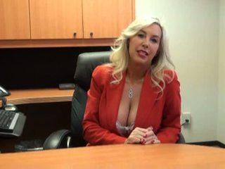 toimisto seksiä, kypsä, kuuma tyttö
