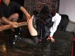 Japanese punishment enema part two