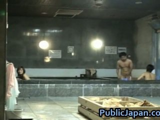 Haruka Sasai Asian Female Gangbangs One