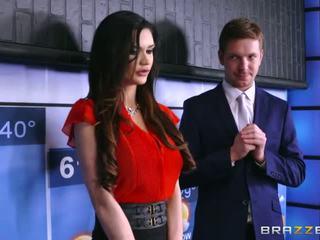 brunete, big boobs, brazzers
