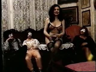 Masked Group Orgy Video