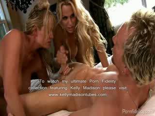 Holly halston tied gagged 和 性交 由 巨乳 朋友 kelly madison
