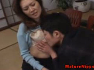 Mature Asian Gets Her Hairy Box Licked