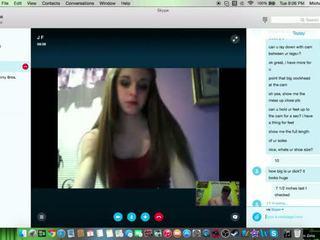 Skype Sex Session