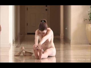 Meghan In Stockings Doing Some BallERi...