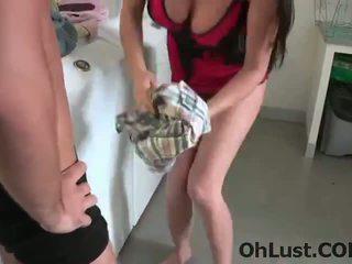 Crazy very hot step mom