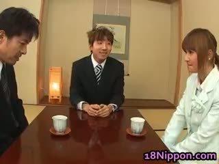 日本, 孩儿, 毛茸茸
