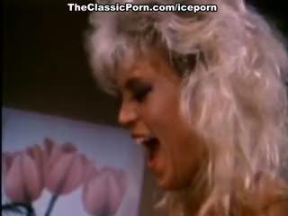 Amber lynn, nina hartley, buck adams में विंटेज बकवास चलचित्र