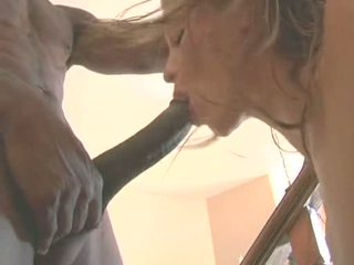 Hot Babe Monica Sweetheart Acquires Her Face Hole Filled With A Fat Noodle