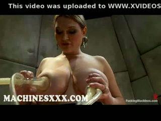 Huge boobed cassandra calogera milking tits