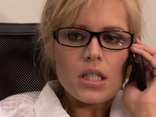 Blond secretary the better pussy
