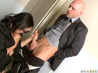 Katsumi sugande hård den balle av henne kontors mate