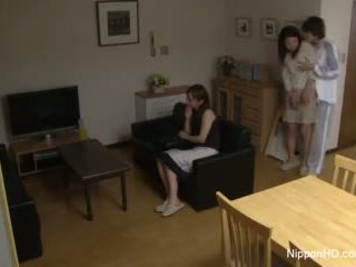 Japońskie nastolatka takes a kutas