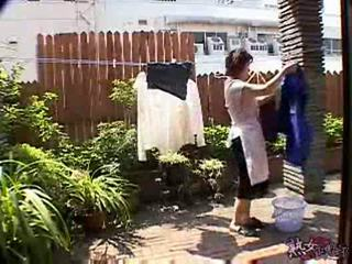 Japonesa dona de casa having strange dia xlx