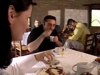 hot threesomes vid, vintage, most italian