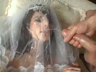 Kuum pruut jackie ashe takes a suurim ja räpane näkku purskamine cumsplash